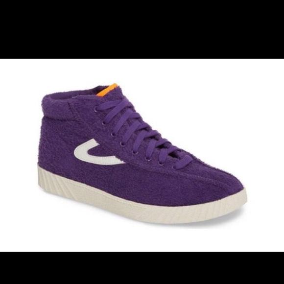 Tretorn x Andre 3000 Benjamin Sneaker Purple NWT